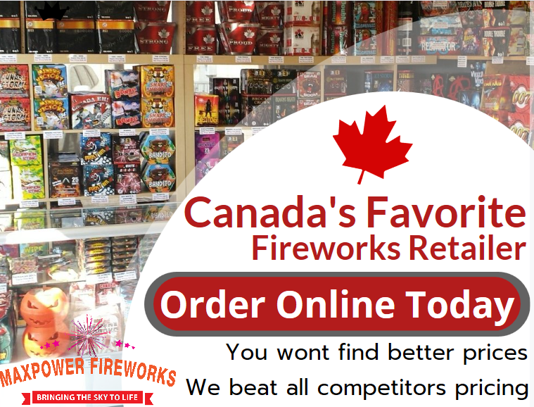 MAXPOWER FIREWORKS - YOU WONT FIND BETTER PRICES - ONLY THE BEST